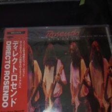 CDs de Música: ROSENDO / CD / DIRECTO / 1989 / EDICIÓN JAPONESA. Lote 130975392