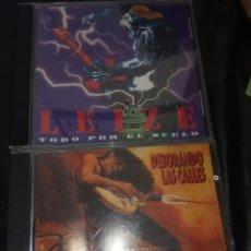 CDs de Música: LEIZE / PACK 2 CD / TODO POR EL SUELO / DEBORANDO LAS CALLES. Lote 130975548