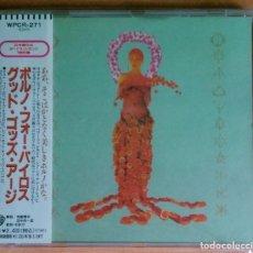 CDs de Música: PORNO FOR PYROS - GOOD GOD'S URGE - WPCR-271 EDICION JAPONESA. Lote 130978028