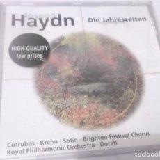 CDs de Música: CD -JOSEPH HAYDN . DIE JAHRESZEITEN HIGHLIGHTS - ROYAL PHILHSRMONIC ORCHESTRA - ANTAL DORATÍ. Lote 130980004