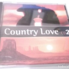 CDs de Música: CD - COUNTRY LOVE CD 2 -CHARLIE RICH.PATTI PAGE.DOLLY PARTON.GENE AUTRY.JIMMIE RODGERS.DON WILLIAN. Lote 130989752