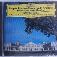 CDs de Música: NARCISO YEPES. JOAQUIN RODRIGO. Lote 130993264