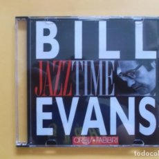 CDs de Música: BILL EVANS JAZZ TIME CD MUSICA. Lote 130998640