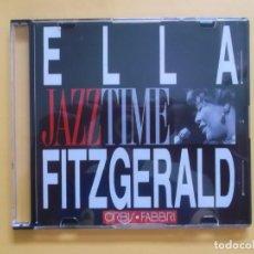 CDs de Música: ELLA FITZGERALD JAZZ TIME CD MUSICA. Lote 130999044