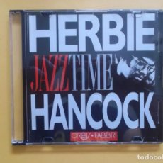 CDs de Música: HERBIE HANCOCK JAZZ TIME CD MUSICA. Lote 130999160