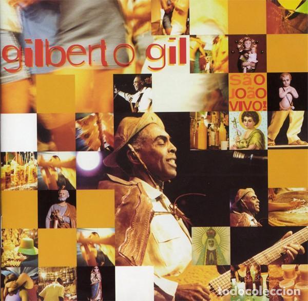 GILBERTO GIL – SÃO JOÃO VIVO (EU, 2001) (Música - CD's World Music)