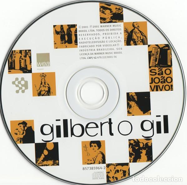 CDs de Música: Gilberto Gil – São João Vivo (EU, 2001) - Foto 3 - 131015660
