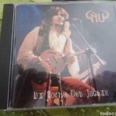 CDs de Música: ÑU / LA NOCHE DEL JUGLAR / ROCK / METAL / HEAVY / JOSE CARLOS MOLINA. Lote 131038552