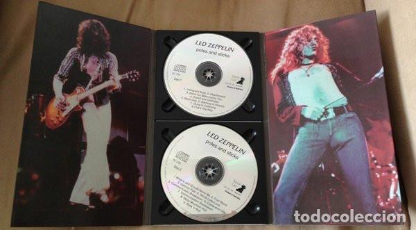 CDs de Música: Led Zeppelin ?– Poles And Sticks Sello: Black Cat Records (5) ?– BC-33 Formato: 2 × CD, Unofficial - Foto 4 - 131048680