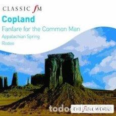 CDs de Música: COPLAND: FANFARE FOR THE COMMON MAN. Lote 131061344