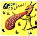 CDs de Música: ANDRÉS CALAMARO: LA LENGUA POPULAR CD A ESTRENAR. Lote 131076452