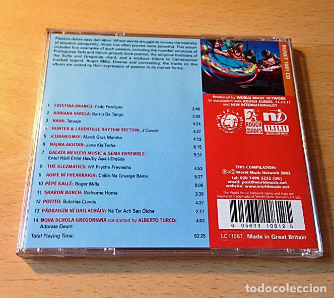 CDs de Música: CD - PASSION - WORLD MUSIC NETWORLD - Foto 2 - 131093208