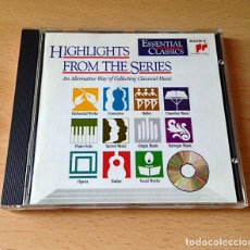 CDs de Música: CD - ESSENTIAL CLASSICS - HIGHLIGHTS FROM THE SERIES. Lote 131093584