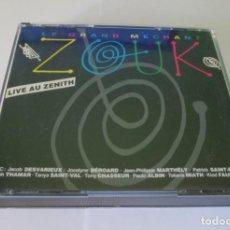 CDs de Música: LE GRAND MECHANT ZOUK - LIVE AU ZENITH 2 CD CBS 1990 AUSTRIA 467198 2 + 4 CD DE REGALO VER FOTOS. Lote 131098804