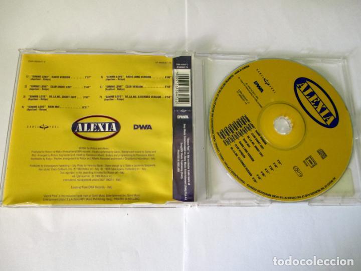 CDs de Música: ALEXIA - GIMME LOVE CD 7 VERSIONES - DWA DANCE-POOL 1998 AUSTRIA DAN 665647 2 - Foto 2 - 131099304