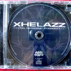 CDs de Música: XHELAZZ.EL SOÑADOR ELEGIDO.(VIOLADORES DEL VERSO)..SIN PORTADA...CD EX. Lote 131125544