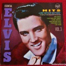 CDs de Música: ELVIS PRESLEY -HITS LIKE NEVER BEFORE - CD [1990] ESSENTIAL ELVIS VOL.3. Lote 131159520