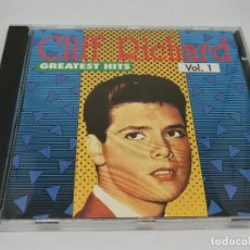 CDs de Música: CD - CLIFF RICHARD - GREATEST HITS VOLUMEN 1 - 1990. Lote 131183436