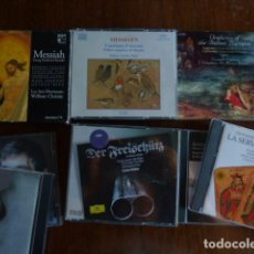 CDs de Música: LOTE 9 CD´S DE CLÁSICA (HARMONIA MUNDI, NAXOS, NUMBUS): SCHUBERT, MESSIAEN, HAENDEL..VER DESCRIPCIÓN. Lote 131194092