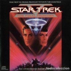 CDs de Musique: STAR TREK V: THE FINAL FRONTIER / JERRY GOLDSMITH CD BSO. Lote 43272085