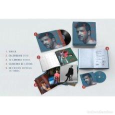 CDs de Música: PABLO ALBORAN-PROMETO (EDICIÓN LIMITADA SUPER DELUXE) (CD + LP-VINILO + 12 LÁMINAS + CUADERNO + CALE. Lote 131232939
