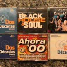 CDs de Música: LOTE DE 6 CDS MUSICA DANCE. DOBLES. DOS DÉCADAS DE DANCE.. Lote 131286291