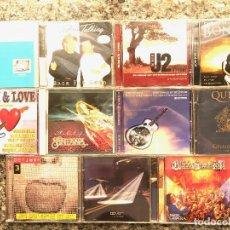 CDs de Música: LOTE DE 11 CDS. ROCK-HEAVY. U2-DOVER-SANTANA...ETC.... Lote 131286763