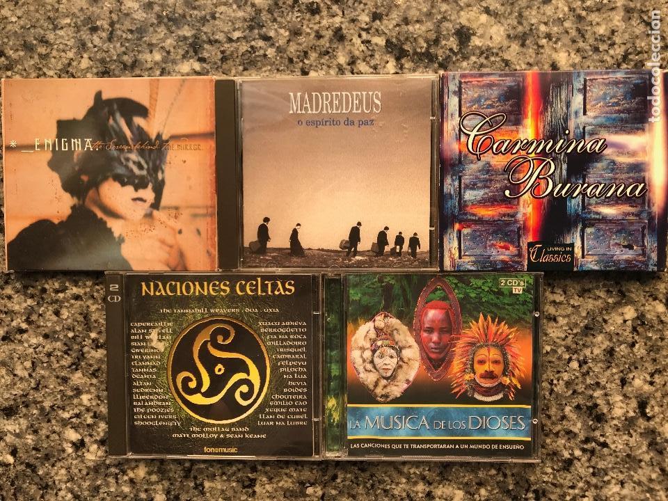 LOTE DE 5 CDS. BUENA MUSICA. (Música - CD's World Music)
