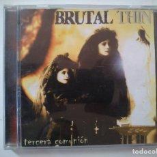 CDs de Música: BRUTAL THIN - TERCERA COMUNIÓN. Lote 131355950