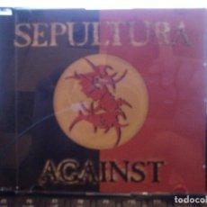 CDs de Música: SEPULTURA - AGAINST - SINGLE. Lote 131359622