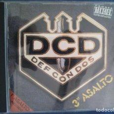 CDs de Música: DEF CON DOS - 3ER ASALTO. Lote 131360330