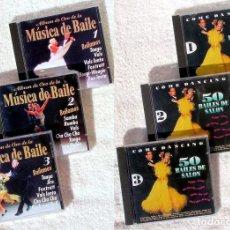CDs de Música: LOTE 6 CDS MÚSICA BAILE DE SALÓN (VICTOR PALMA Y OTROS). Lote 131365290