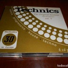 CDs de Música: TECHNICS-THE ORIGINAL SESSIONS (SPECIAL EDITION) VOL V--4CD. Lote 131426370
