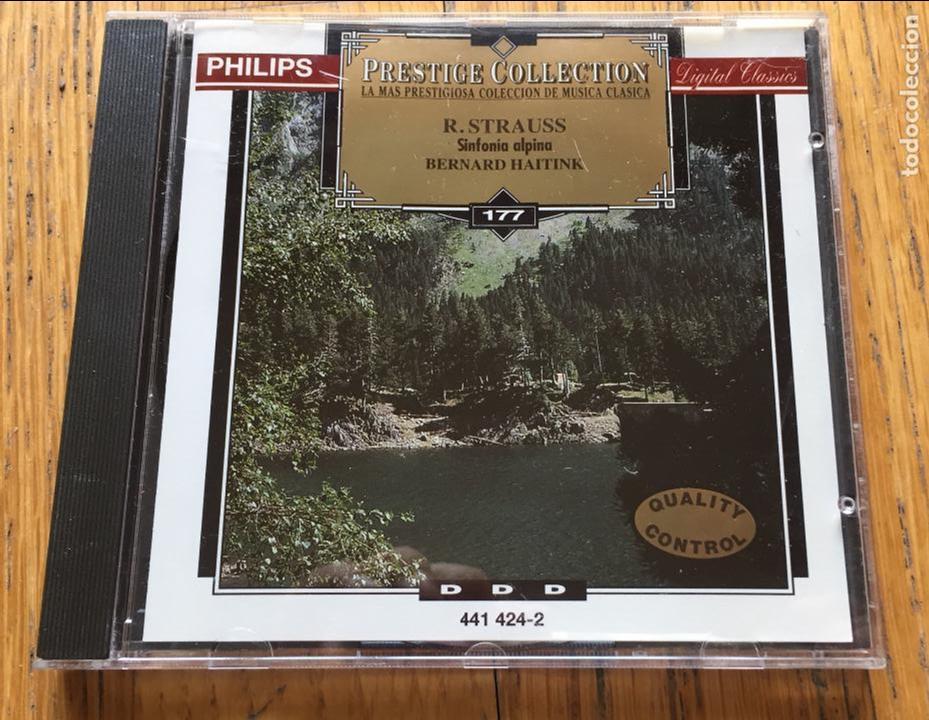 R.STRAUSS, SINFONIA ALPINA, BERNARD HAITINK, PRESTIGE COLLECTION NUMERO 177 (Música - CD's Clásica, Ópera, Zarzuela y Marchas)