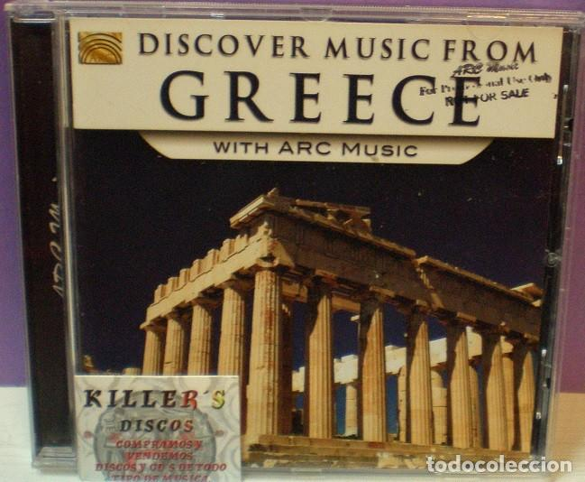 DISCOVER MUSIC FROM GREECE WITH ARC MUSIC - CD (Música - CD's World Music)