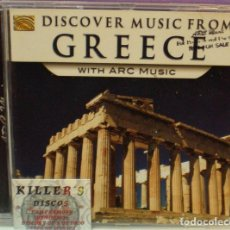 CDs de Música: DISCOVER MUSIC FROM GREECE WITH ARC MUSIC - CD. Lote 131435638