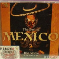 CDs de Música: THE BEST OF MEXICO - TRIO AZTECA & DE NORTE A SUR - CD. Lote 131437218