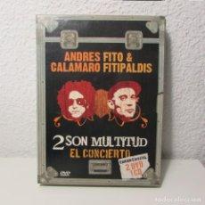 CDs de Música: ANDRES FITO CALAMARO FITIPALDIS 2 SON MULTITUD EN CONCIERTO 2 DVD Y 1 CD. Lote 131439234