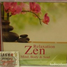 CDs de Música: RELAXATION ZEN - MIND BODY & SOUL - CD . Lote 131441578