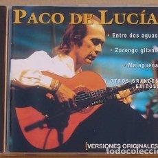 CDs de Música: PACO DE LUCIA - ENTRE DOS AGUAS (CD) 2002 - 10 TEMAS - UNIVERSAL. Lote 131461754