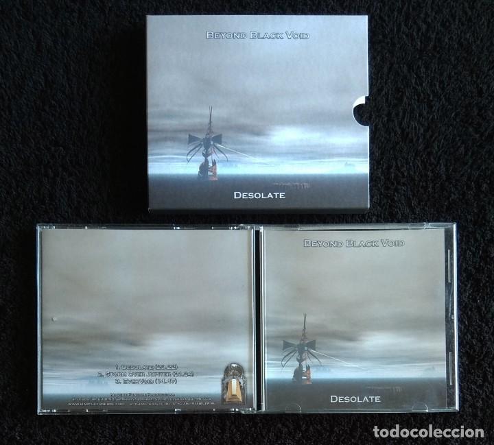 CDs de Música: BEYOND BLACK VOID - DESOLATE CD - DOOM METAL - Foto 3 - 131465402