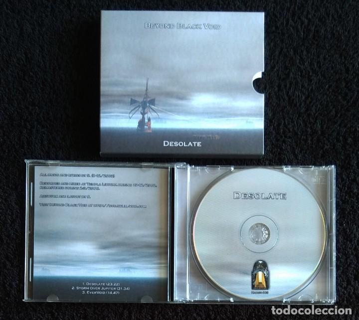 CDs de Música: BEYOND BLACK VOID - DESOLATE CD - DOOM METAL - Foto 4 - 131465402