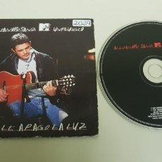 CDs de Música: 818- ALEJANDRO SANZ MTV UNPLUGGED SE LE APAGO LA LUZ CD PROMOCIONAL ENVIO ECONOMICO!!. Lote 131466098