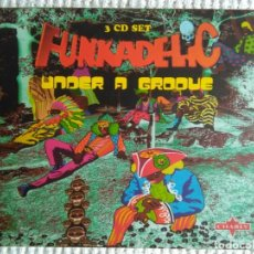 CDs de Música: FUNKADELIC - '' ONE NATION UNDER A GROOVE - UNCLE JAM ... + 2 '' 3 CD + BOOKLET BOX SET 2003 UK. Lote 131494366