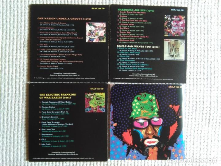 CDs de Música: FUNKADELIC - ONE NATION UNDER A GROOVE - UNCLE JAM ... + 2 3 CD + BOOKLET BOX SET 2003 UK - Foto 4 - 131494366