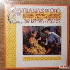 CDs de Música: CD. GRANDES SEVILLANAS DE ORO MANUEL LINARES MARISMA BAYUNCO Y SAL LOS DE SEVILLA PACO TARANTO . Lote 131508770