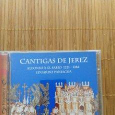 CDs de Música: CANTIGAS DE JEREZ ALFONSO X EL SABIO 1221 1284 PANIAGUA SONY 1997 . Lote 131547230