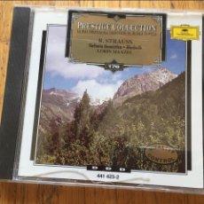 CDs de Música: R.STRAUSS, SINFONIA DOMESTICA MACBETH, PRESTIGE COLLECTION, 176. Lote 131561246
