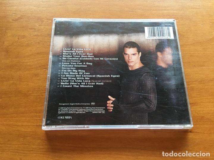 CDs de Música: CD - Ricky Martin. 1999 - Foto 2 - 131569998