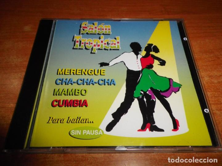 SALON TROPICAL MUSICA DE BAILES DE SALON CD ALBUM 1997 MAMBO MIX PEREZ PRADO CUMBIA MIX CHA-CHA-CHA (Música - CD's Latina)